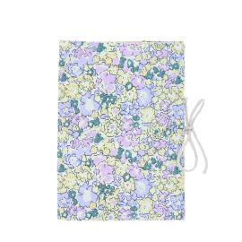 protège carnet de santé jaune et lilas