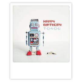 Carte polaroid happy birthday to you