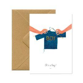 Carte postale it's a boy