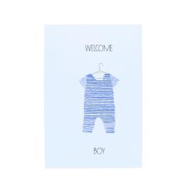 Carte Welcome Boy