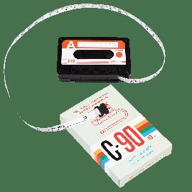 Mètre ruban cassette audio