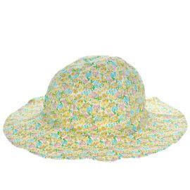 Chapeau de soleil à fleurs