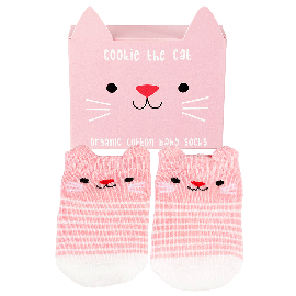 Chaussettes chat cookie the cat