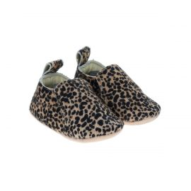 Chaussons imprimé léopard 0-6 mois