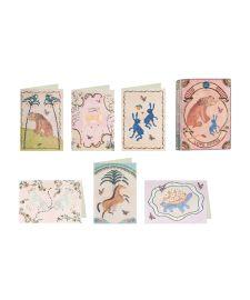 Coffret de cartes et enveloppes animaux