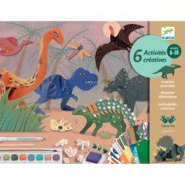 Coffret multi-activites Le monde des dinosaures
