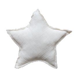 Coussin étoile blanc