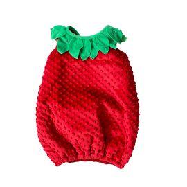 Déguisement fraise enfant 4-5 ans