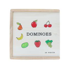Dominos fruits en bois