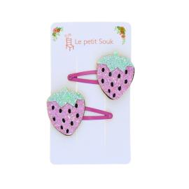 duo-de-barrettes-fraise-pailletee