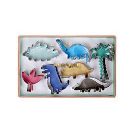 Lot de 7 emporte pièce dinosaures