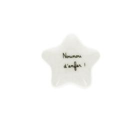 etoile-en-porcelaine-nounou-d-enfer