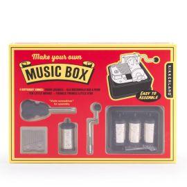 Jeu fabrique ta boite à musique