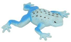 Figurine grenouille bleue