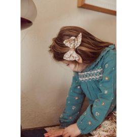 Barrette à cheveux Lisa cream french flowers