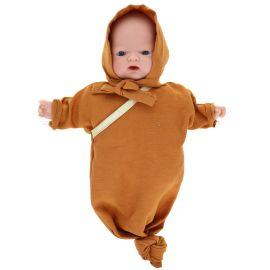 Petite poupée Gaby moutarde