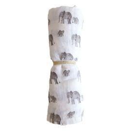Lange éléphant 120 x 120