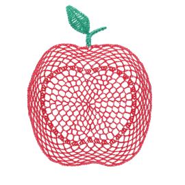 Grand panier pomme rouge