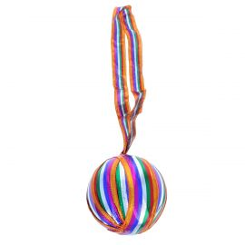 Grande boule de noël colorée