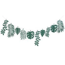 Guirlande feuillage vert Meri Meri