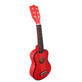 Guitare enfant rouge
