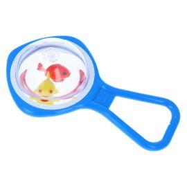 Hochet bulle d'eau poisson bleu