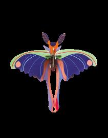 Trophée papillon bleu