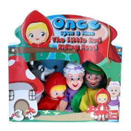 Jeu de marionnettes le petit chaperon rouge