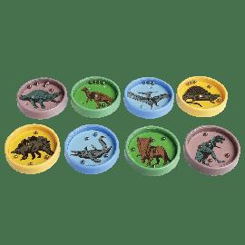 Jeu de patience à billes dinosaure