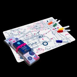 Kit de table à colorier
