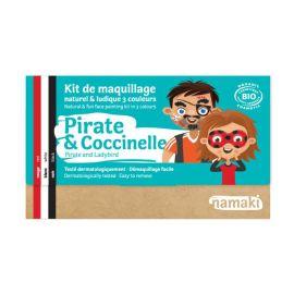 Kit de maquillage pirate et coccinelle