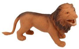 Figurine lion en caoutchouc