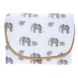 Matelas a langer éléphant