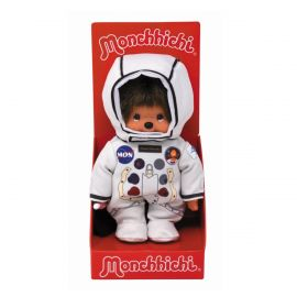 Peluche Monchhichi astronaute