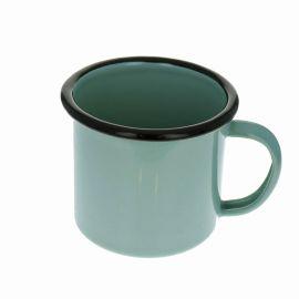 Mug en métal vert