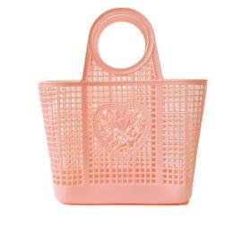 Panier shopping orange