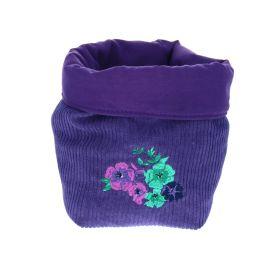 Panier velours purple gipsy