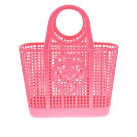 Panier shopping plastique rose