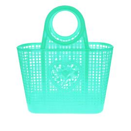 Panier shopping vert