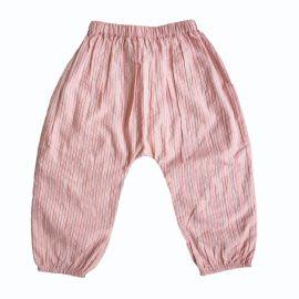 Pantalon lurex rose