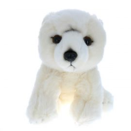 Peluche ours blanc