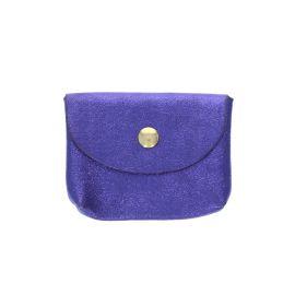 Petit porte carte violet