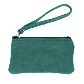 Petite pochette vert pailleté