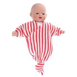 Petite poupée pyjama rouge