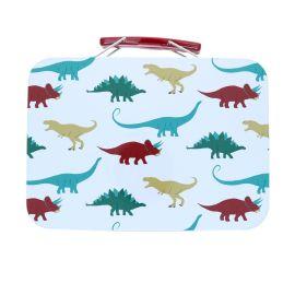 Petite valise métallique dinosaure