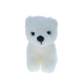 Petite peluche ours polaire