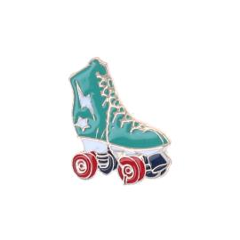 Pin's roller bleu