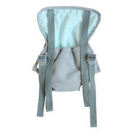 Porte poupée velours bleu
