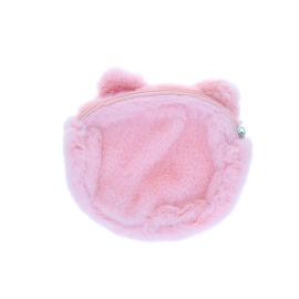 Porte monnaie chat rose