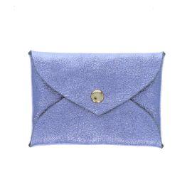 Porte-monnaie enveloppe bleu ciel